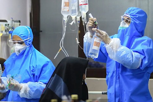 Las mujeres representan la mayor parte del personal de atención médica y de servicios sociales en el todo mundo. Imagen cortesía del UNFPA Irán