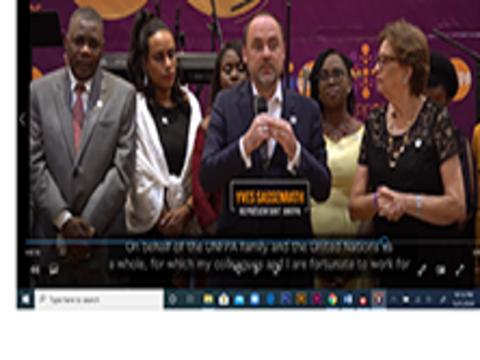 Restitution des engagements d'Haïti à Nairobi et Célébration des 50 ans de l'UNFPA